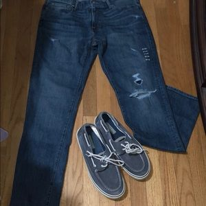 NWT Abercrombie and Fitch Athletic Slim Jeans